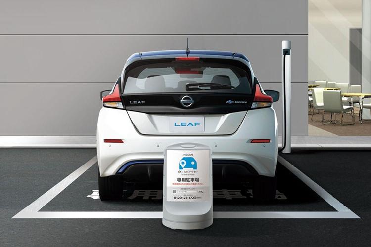 日产与零售商合作,在日本推出电动车共享服务