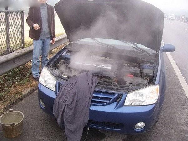 養護注意,發動機溫度過高勿立即熄火